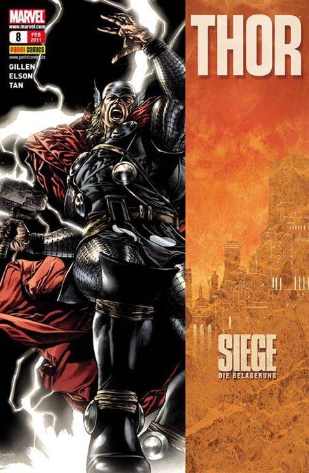 Thor 8: The Siege - Die Belagerung - Das Cover