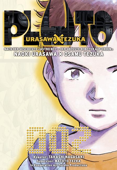 Pluto: Urasawa X Tezuka 2 - Das Cover