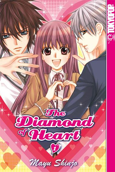The Diamond of Heart 1 - Das Cover
