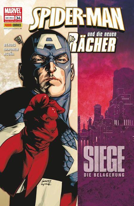 Spider-Man und die neuen Rächer 34 - Das Cover