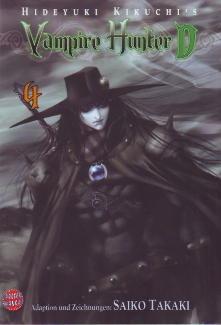 Vampire Hunter D 4 - Das Cover