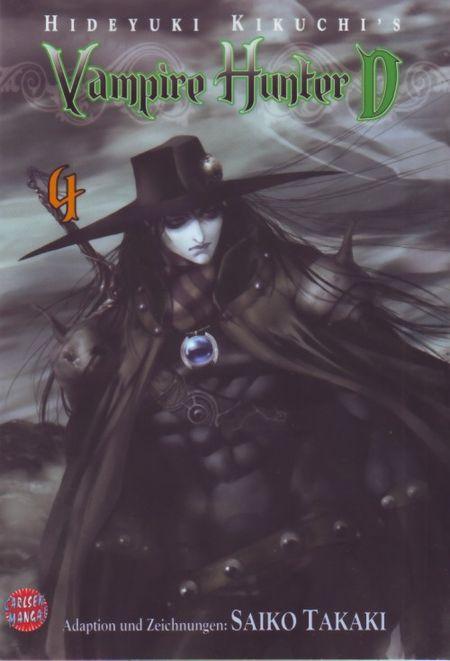 Vampire Hunter D 4 - Das Cover