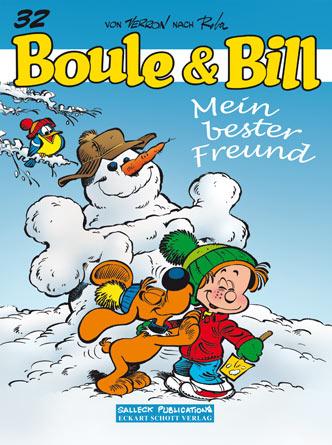 Boule & Bill 32: Mein bester Freund - Das Cover