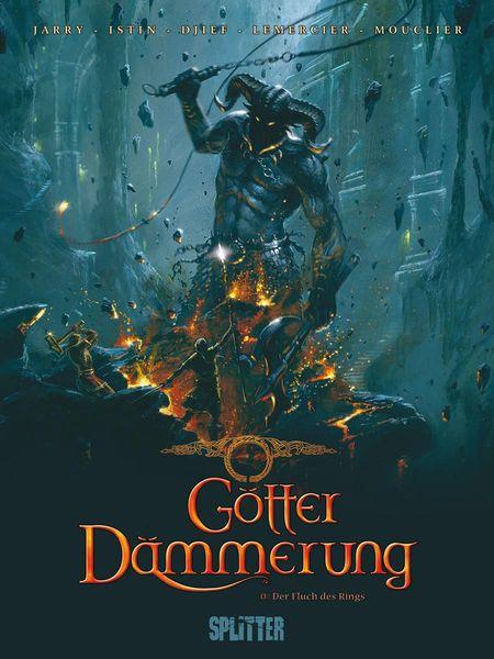 Götterdämmerung 0: Der Fluch des Rings - Das Cover