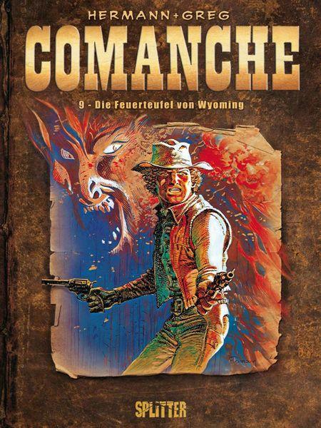Comanche 9: Die Feuerteufel von Wyoming - Das Cover