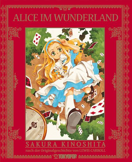 Alice im Wunderland - Der Manga - Das Cover