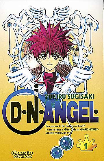 D°N°Angel 1 - Das Cover