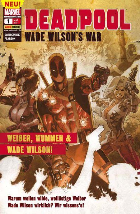 Deadpool Sonderband 1: Weiber, Wummen und Wade Wilson!  - Das Cover