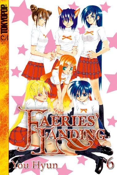 Faeries' Landing 6 - Das Cover