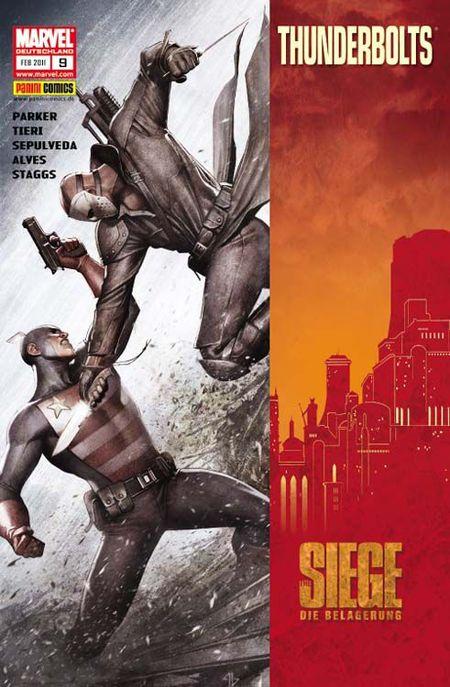 Thunderbolts 9: Im Kampf um Asgard - Das Cover