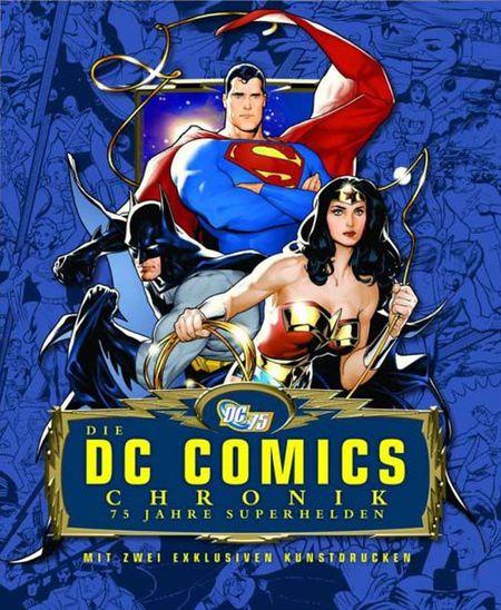 Die DC Comics Chronik: 75 Jahre Superhelden - Das Cover