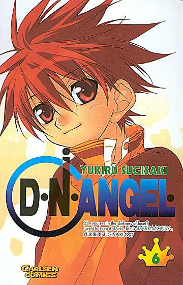 D°N°Angel 6 - Das Cover