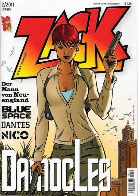ZACK 140 (Nr. 02/2011) - Das Cover