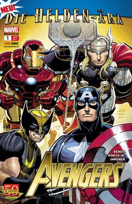 Avengers 1 - Das Cover