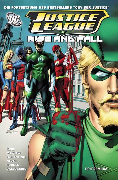 DC Premium 71: Justice League - Rise and Fall - Das Cover