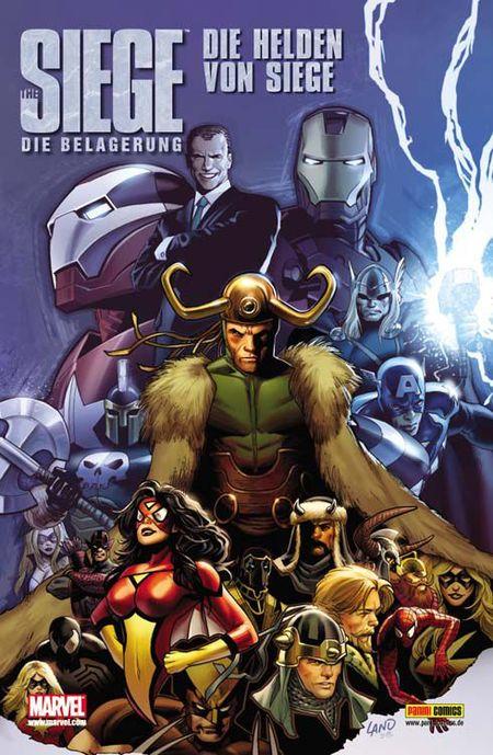 The Siege Special: Die Helden von Siege - Das Cover