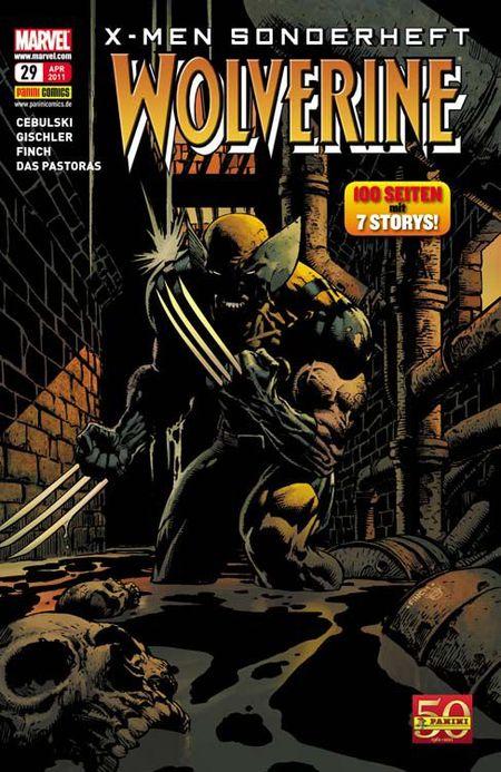 X-Men Sonderheft 29: Wolverine - Das Cover