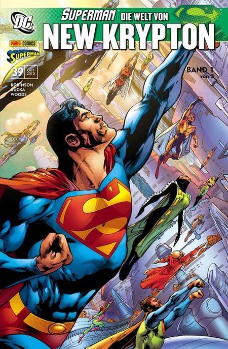Superman Sonderband 39: Die Welt von New Krypton 1 - Das Cover