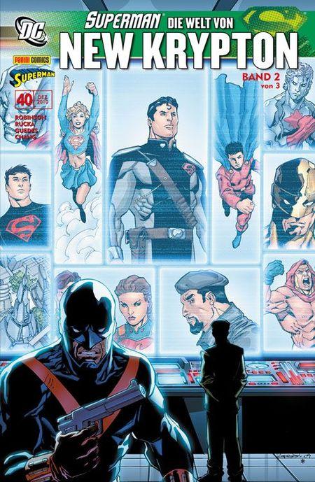 Superman Sonderband 40: Die Welt von New Krypton 2 - Das Cover