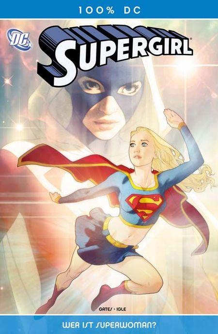 100% DC 25: Supergirl - Wer ist Superwoman? - Das Cover
