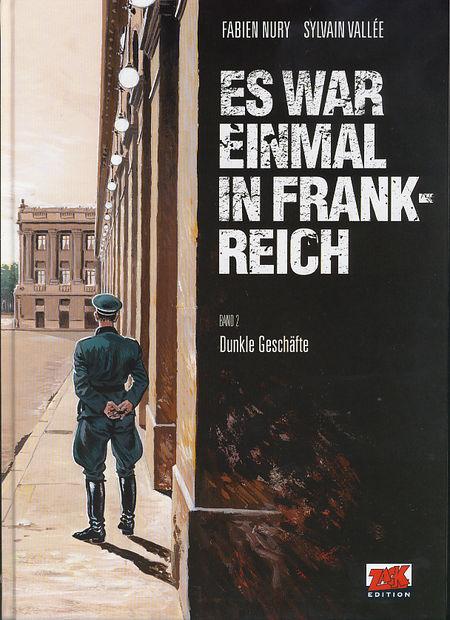 Es war einmal in Frankreich 2: Dunkle Geschäfte - Das Cover