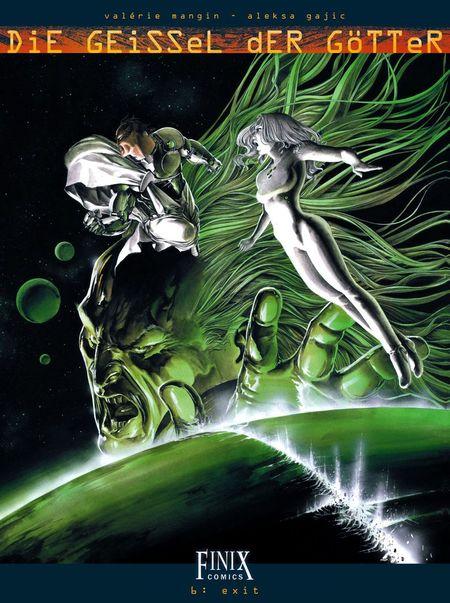 Die Geissel der Götter 6: Exit - Das Cover