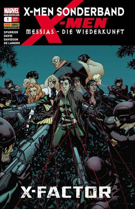 X-Men Sonderband 34: Messias - Die Wiederkunft 1 - Das Cover