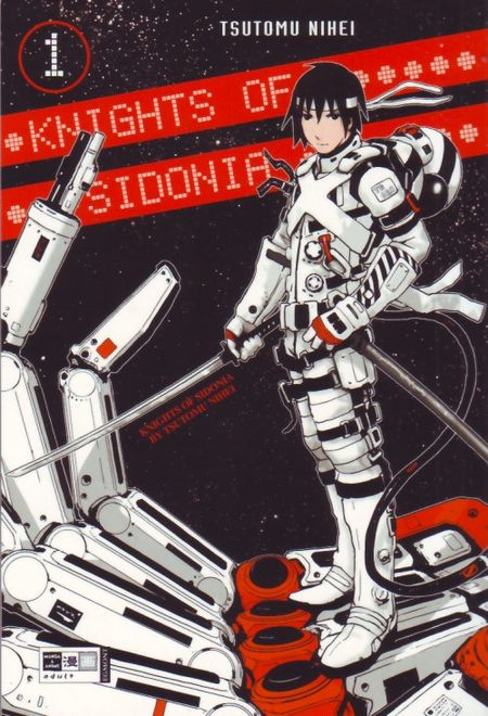 Knights of Sidonia 1 - Das Cover