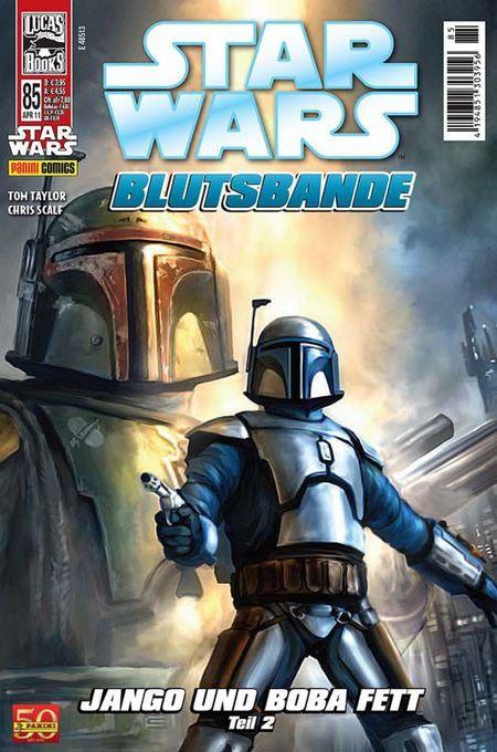 Star Wars 85: Blutsbande: Jango und Bobba Fett 2 - Das Cover