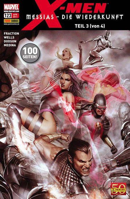 X-Men 123 - Das Cover
