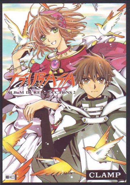 Tsubasa Artbook - ALBuM De REProDUCTioNS 2 - Das Cover
