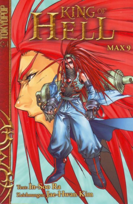 King of Hell Max 9 - Das Cover
