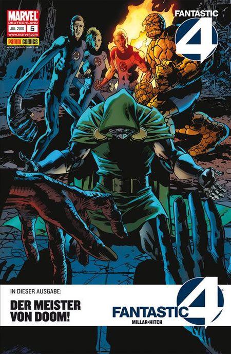 Fantastic Four 5: Dooms Meister - Das Cover
