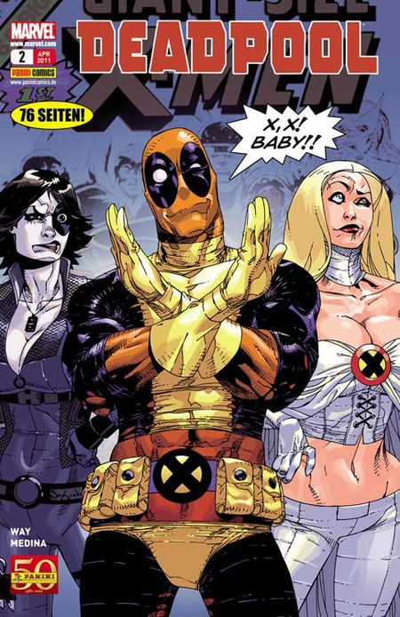 Deadpool 2 - Das Cover