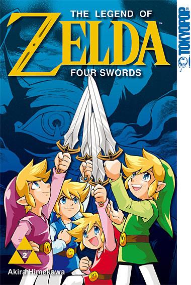 The Legend of Zelda - Four Swords 2 - Das Cover