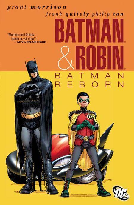 Batman & Robin 1: Batman Reborn - Das Cover