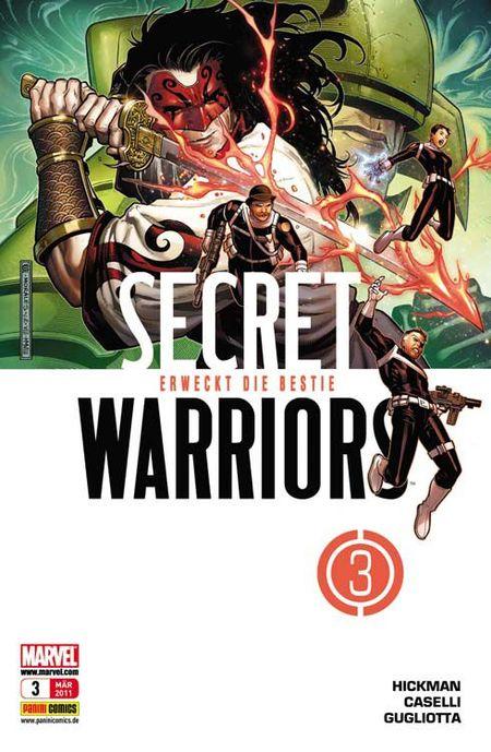 Secret Warriors 3: Erweckt die Bestie - Das Cover
