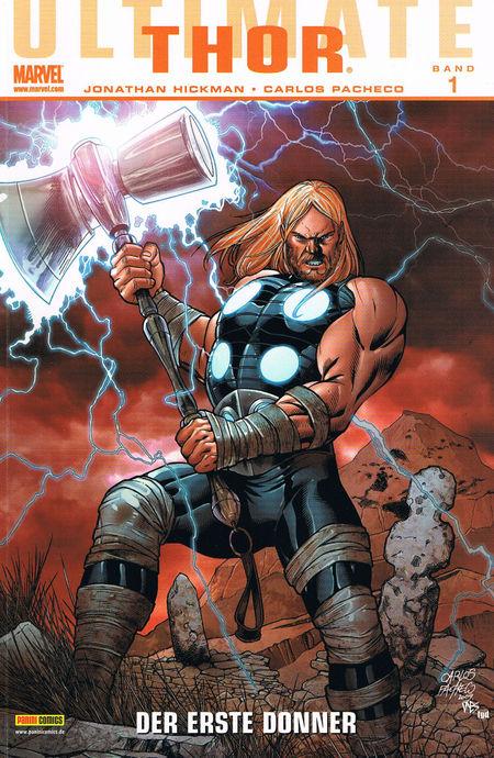 Ultimate Thor 1: Der erste Donner - Das Cover