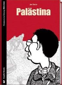 SZ Bibliothek Graphic Novels 5: Palästina - Das Cover