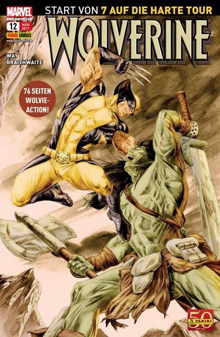 Wolverine 12: 7 auf die harte Tour - Das Cover
