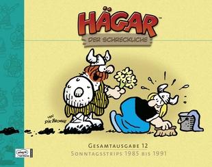 Hägar der Schreckliche Gesamtausgabe 12: Sonntagsstrips 1985 bis 1991 - Das Cover