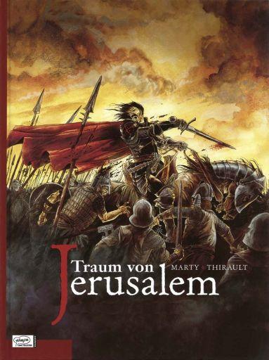 Traum von Jerusalem - Das Cover