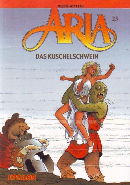 Aria 23: Das Kuschelschwein - Das Cover