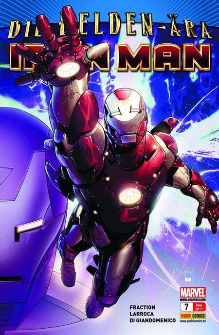 Iron Man 7: Stark Resilient - Das Cover