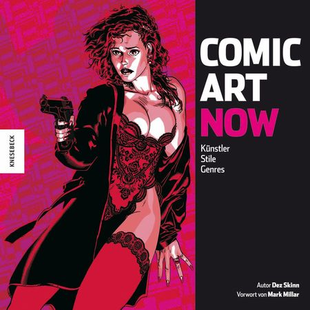 Comic Art Now - Künstler, Stile, Genres - Das Cover