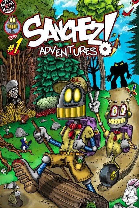 Sanchez Adventures 1 - Das Cover