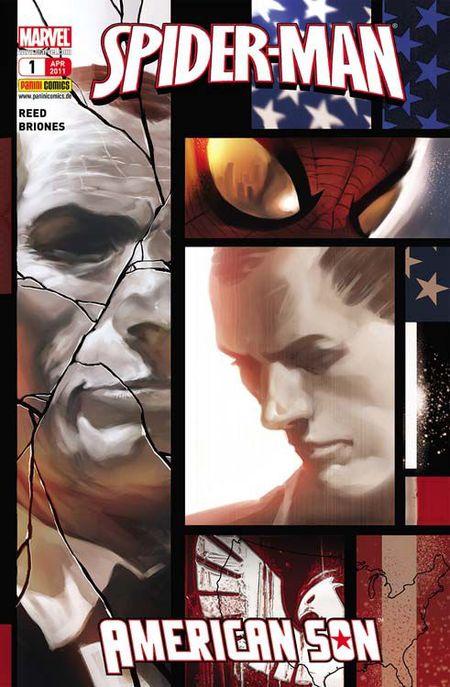 Spider-Man: American Son - Das Cover