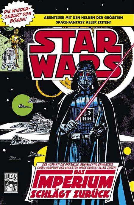 Star Wars Classics 5: Das Imperium schlägt zurück - Das Cover