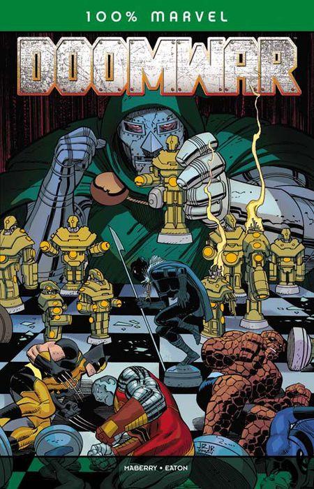 100% Marvel 54: Doomwar - Das Cover
