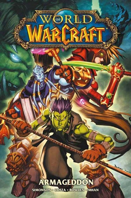 World of Warcraft 4: Armageddon - Das Cover